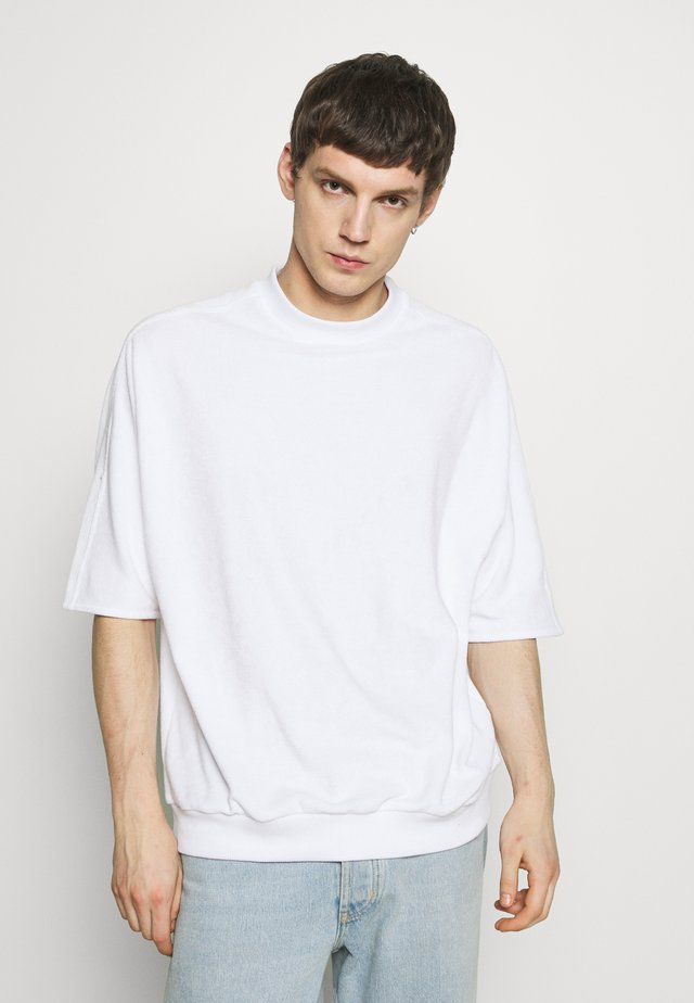 PEER LOOSE - T-shirt imprimé - white