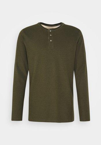 JJEJEANS NOOS - Long sleeved top - olive night