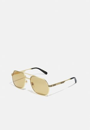 UNISEX - Sonnenbrille - gold-coloured/yellow