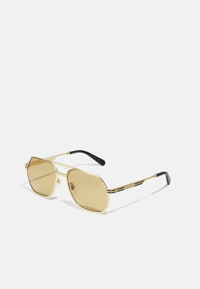 UNISEX - Gafas de sol - gold-coloured/yellow