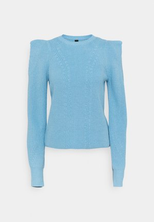 YASCARLOTTA - Jumper - dusk blue
