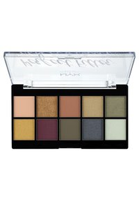 Nyx Professional Makeup - PERFECT FILTER SHADOW PALETTE - Paleta cieni - 3 olive you - 1