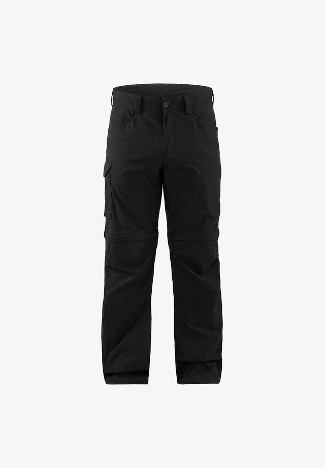 Outdoor trousers - true black