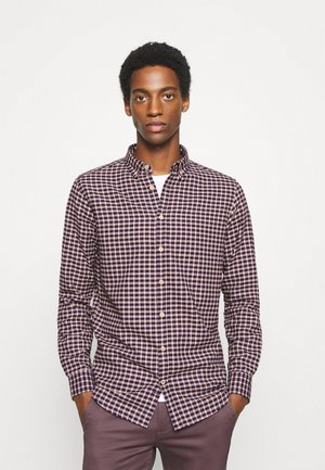 JOHAN SMALL CHECK - Shirt - red