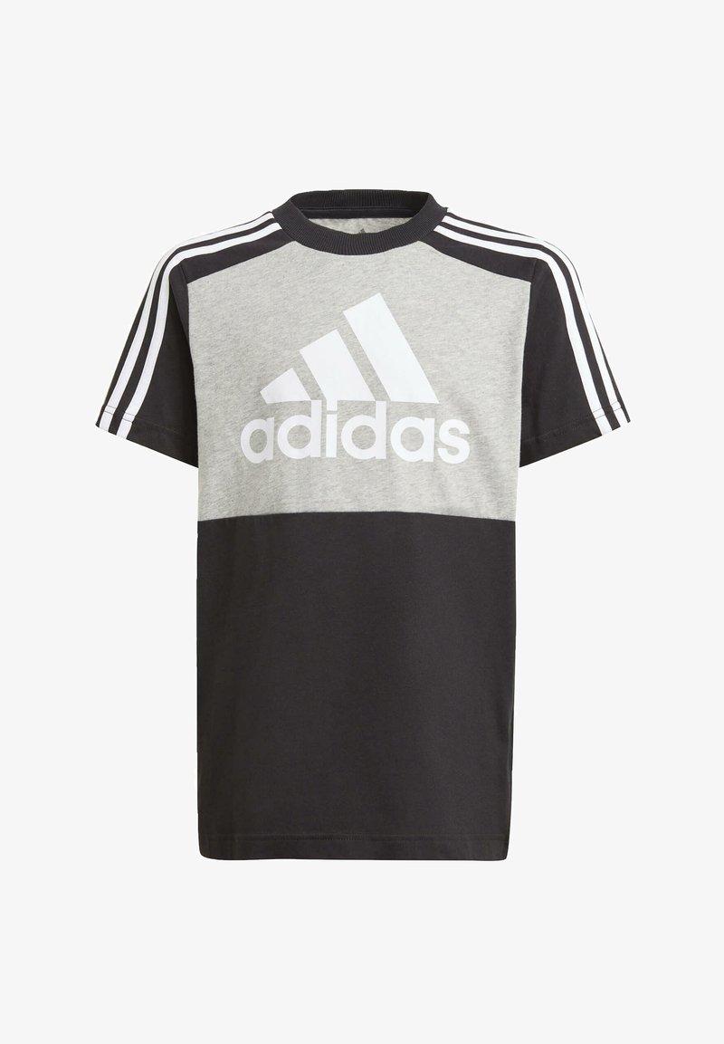 adidas Performance - COLORBLOCK T ESSENTIALS SPORTS REGULAR T-SHIRT - Print T-shirt - grey