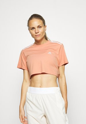 CROPPED TEE - Print T-shirt - ambient blush