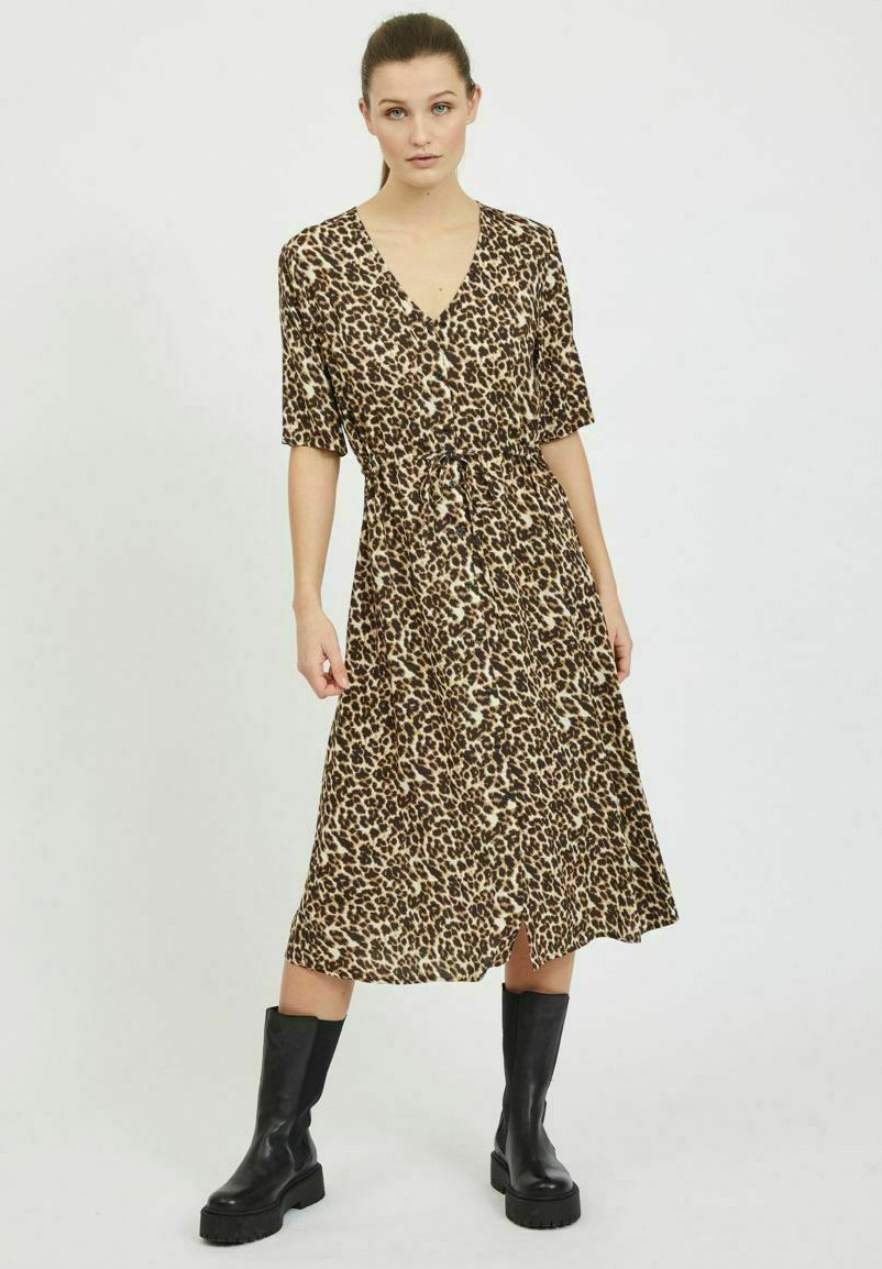 Mujer Vestido camisero