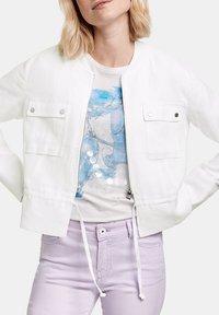 Taifun - Summer jacket - offwhite - 2