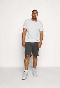 Pier One - Shorts - mottled dark grey - 1