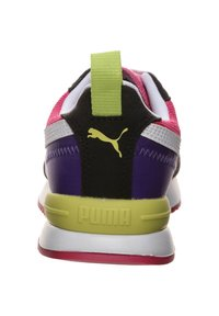 Puma - R78 UNISEX - Trainers - beetroot purple / puma black / puma white - 3