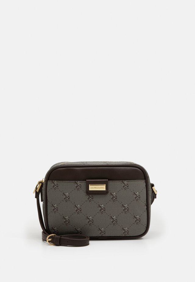 HAMPTON CROSSBODY BAG PRINTED - Bandolera - brown