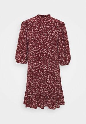 DRESS - Day dress - burgundy