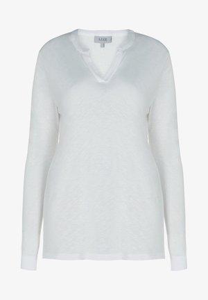 SLUB TEE - Long sleeved top - off-white