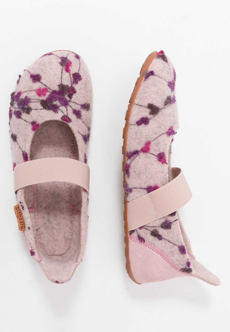 Bisgaard - BALLET HOME SHOE - Slippers - rose