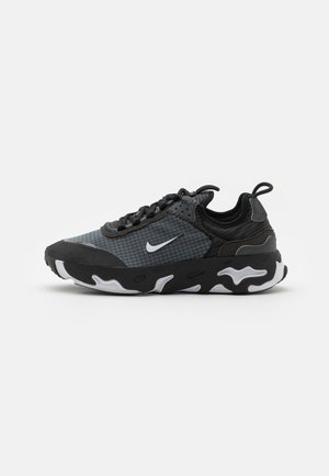 REACT LIVE UNISEX - Sneakers - black/white/dark smoke grey