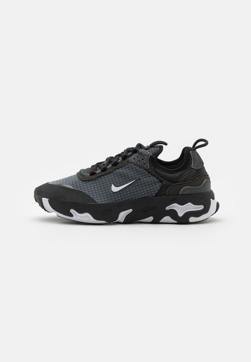 Nike Sportswear - REACT LIVE UNISEX - Matalavartiset tennarit - black/white/dark smoke grey
