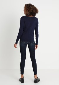 Zalando Essentials - Chaqueta de punto - dark blue - 2