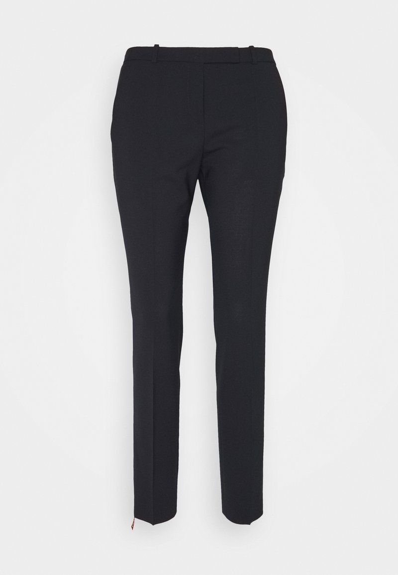 HUGO - TROUSERS - Trousers - navy