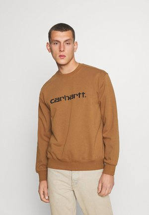 Sweatshirt - hamilton brown/black