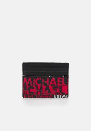 TALL CARD CASE UNISEX - Portafoglio - red/black