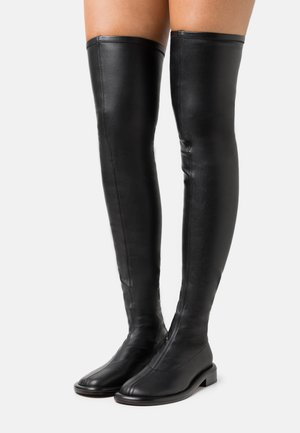 BOYD STRETCH BOOT - Over-the-knee boots - black