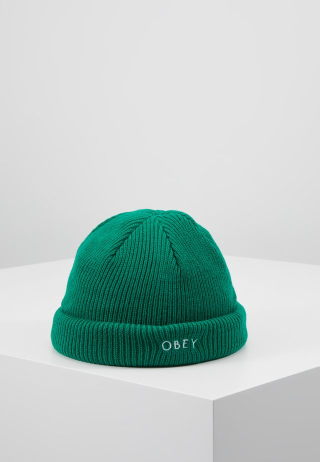 ROLLUP BEANIE - Bonnet - green lake