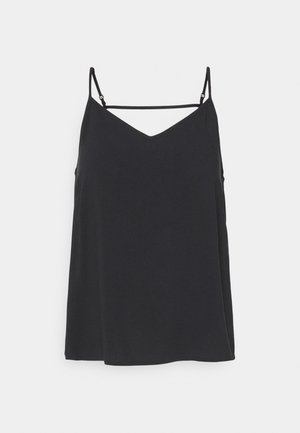 ONLNOVA LIFE PARIS SINGLET SOLID  - Topper - black