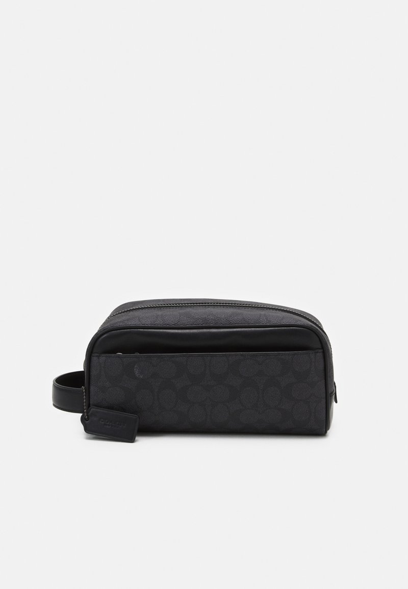 Coach - TRAVEL KIT IN SIGNATURE UNISEX - Wash bag - charcoal