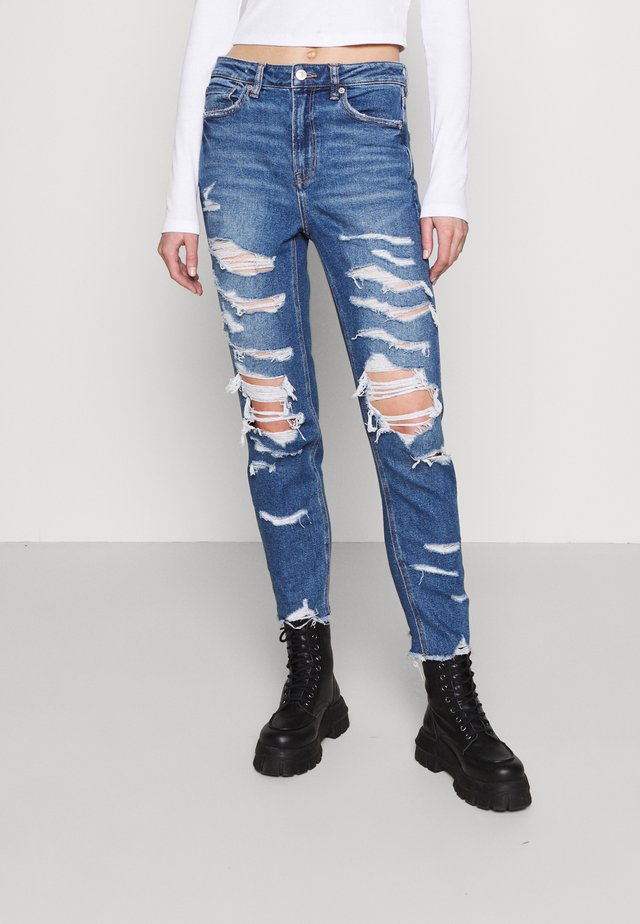 MOM - Jeans slim fit - indigo shatter