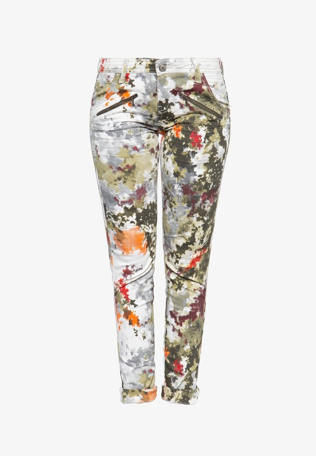 Slim fit jeans - multi-coloured