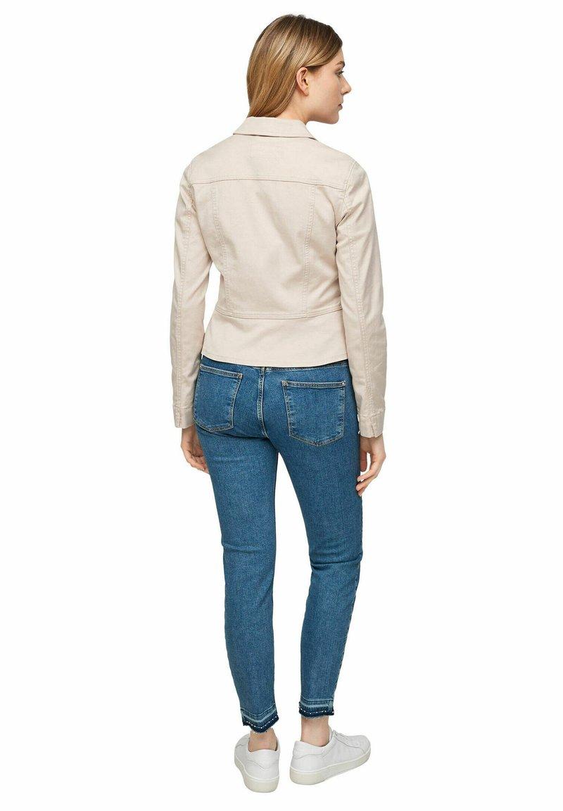 comma - Denim jacket - sand