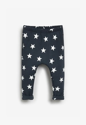 Leggings - Trousers - navy /white