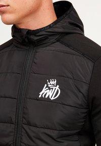 Kings Will Dream - MORSTON HYBRID PUFFER JACKET - Light jacket - black - 6