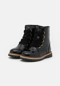 Friboo - LEATHER - Veterboots - black - 1