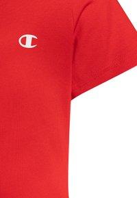 Champion - LEGACY BASICS CREW NECK 2 PACK UNISEX - T-shirt basic - heritage red/new black - 4