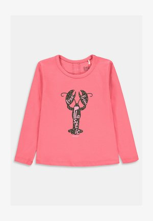 Long sleeved top - coral