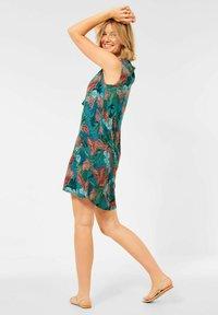 Cecil - MIT HAWAII PRINT - Day dress - türkis - 1