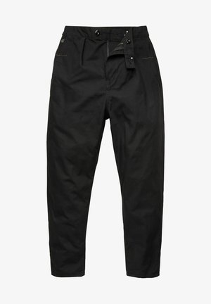 RELAXED WORKER CHINO - Pantalon classique - dk black