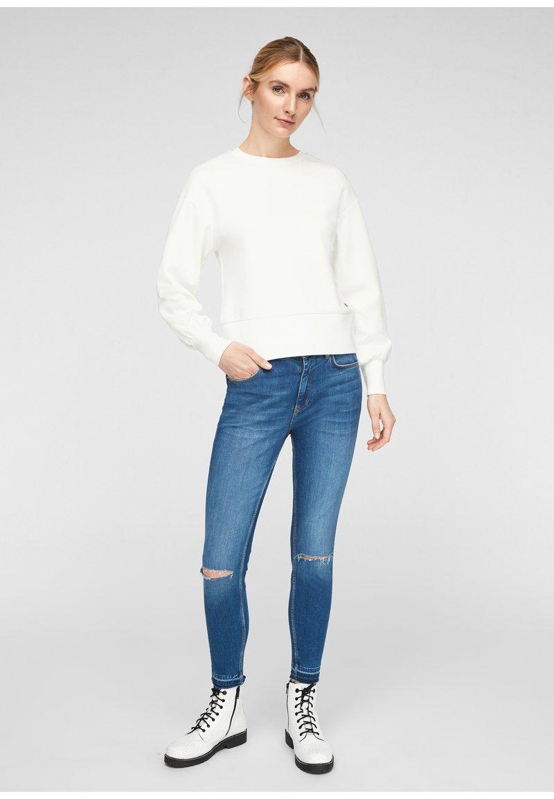 Q/S designed by - Sweatshirt - soft white