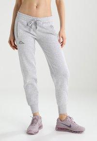 Kappa - TAIMA - Pantalones deportivos - grey melange - 0