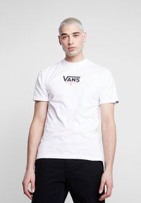 Vans - CHECKERBOARD ROOM - Print T-shirt - white - 2