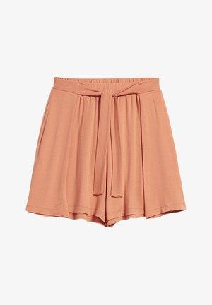 KAARO - Shorts - burned mandarin