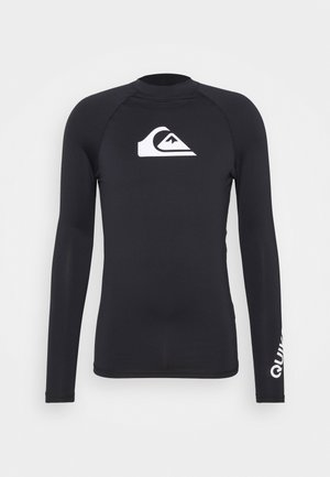 NEOPREN BADESHIRT - Long sleeved top - black