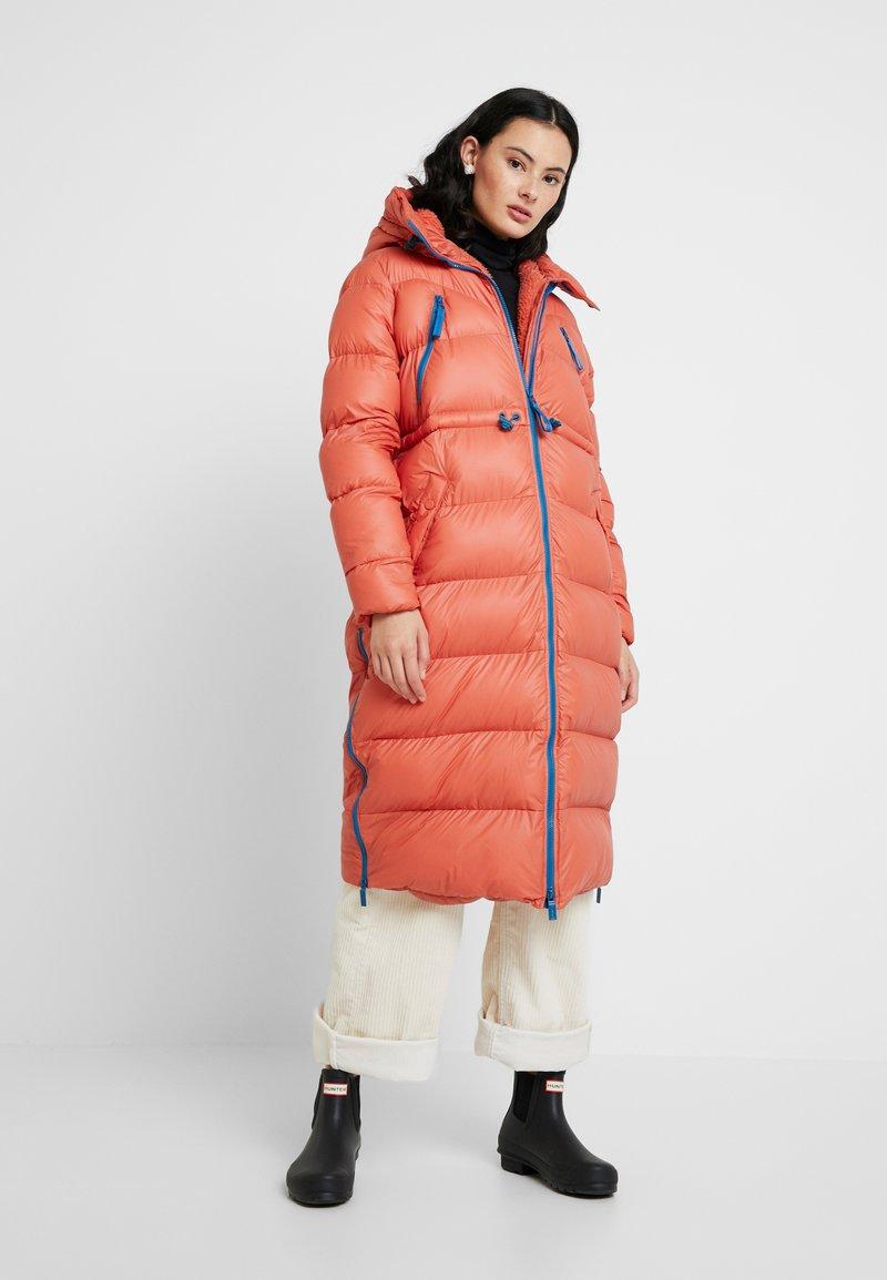 Hunter ORIGINAL - WOMENS ORIGINAL PUFFER COAT - Abrigo de invierno - siren