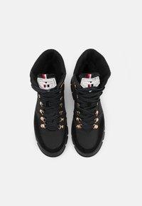 Les Tropéziennes par M Belarbi - CAKE - Lace-up ankle boots - noir - 5