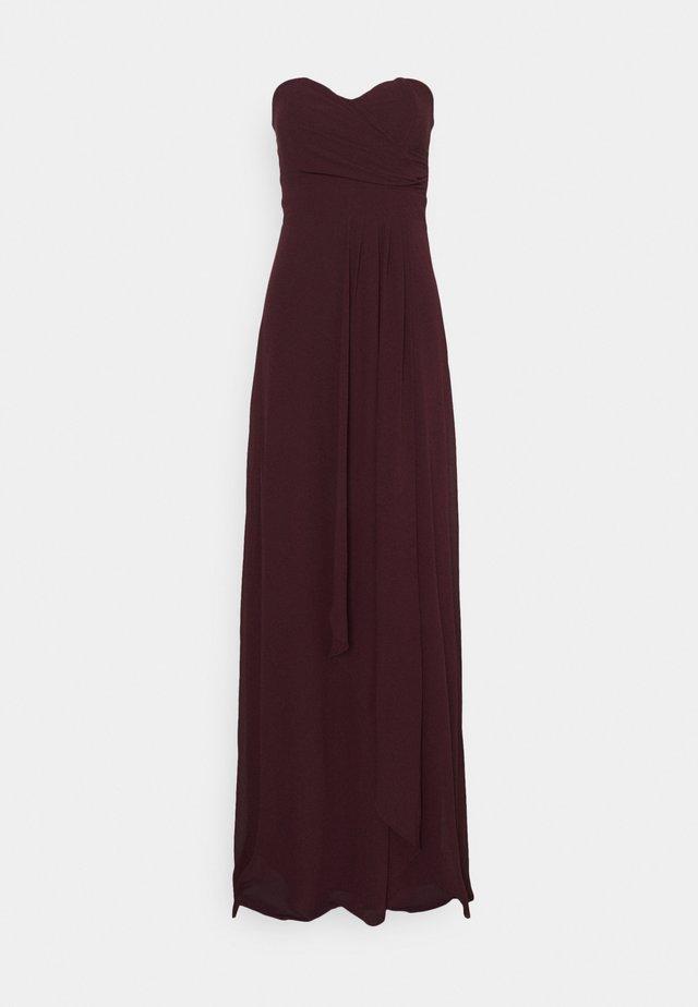 IDINA MAXI - Festklänning - dark plum