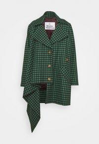Vivienne Westwood - BLANKET COAT - Light jacket - green/plum - 5
