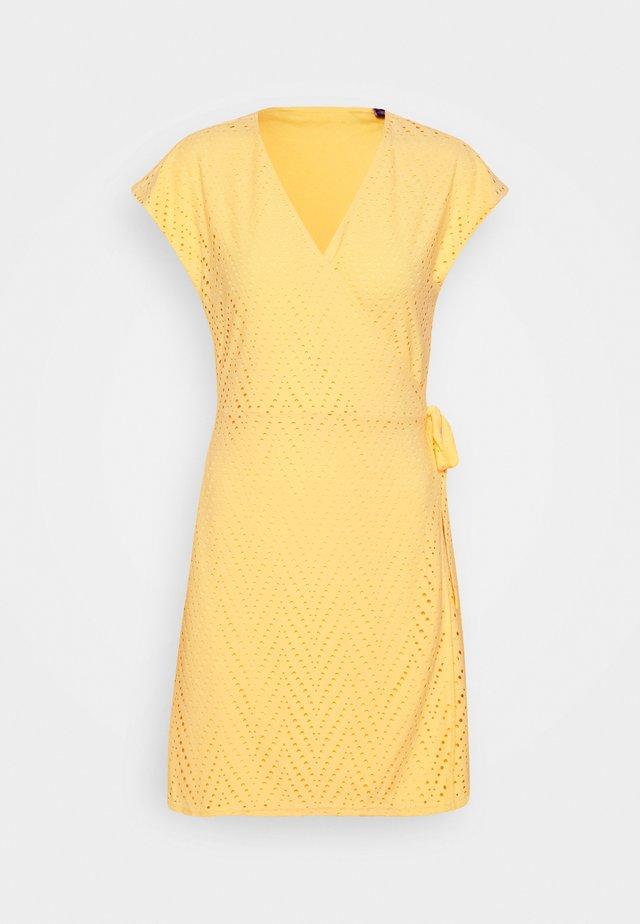 VMLEAH 2/4 SHORT DRESS - Korte jurk - cornsilk