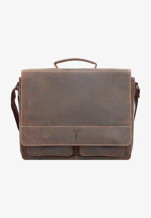 BALTIMORE - Briefcase - mokka