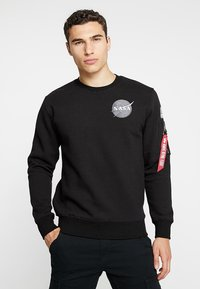 Alpha Industries - NASA - Sweatshirt - schwarz - 0